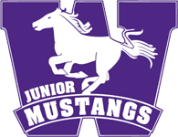 London Junior Mustangs Logo